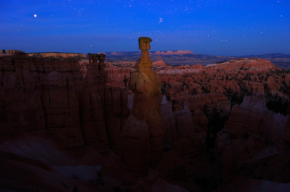 Thor's Hammer After Sunset