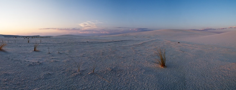 Whitesands at Sunset - Whitesands National Monument, New Mexico:  File # 1130112    Link To Original Image
