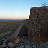 Petroglyph at Sunrise 2 - 6 April 2012