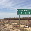 Brown Material Road