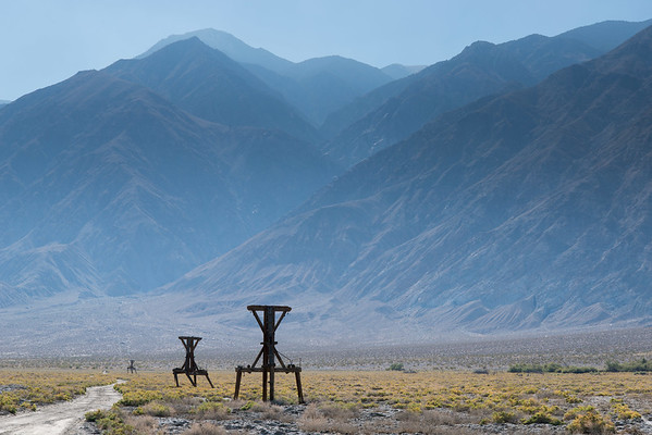 Salt Tram, Saline Valley, California.