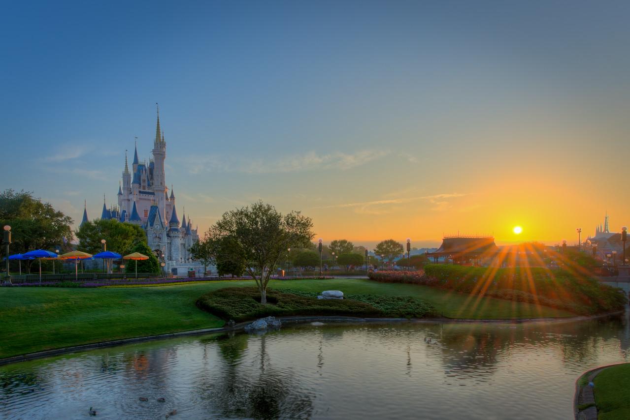 Sunrise in the World of Magic
