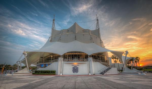 Downtown Disney: Cirque Du Soleil