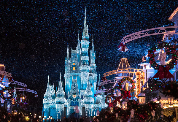 Snow in the Magic Kingdom