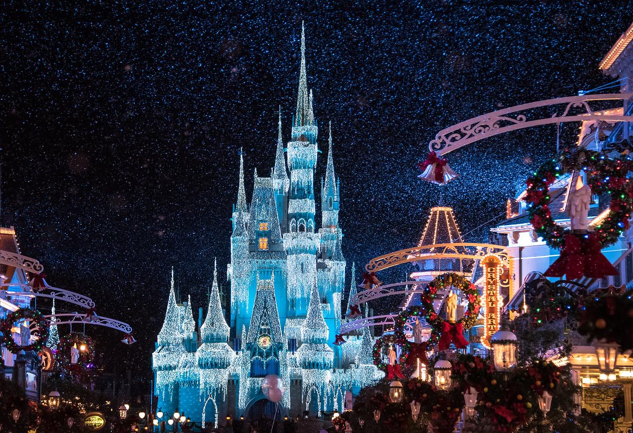 Snow in the Magic Kingdom