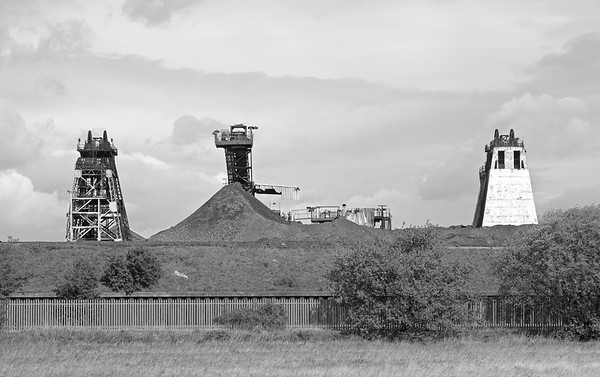 Hatfield Colliery, South Yorkshire.
