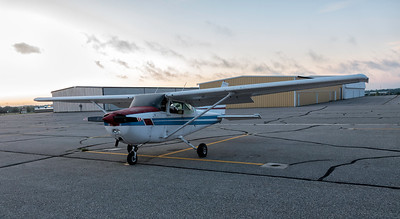 Dana Vander Ark Cessna 172 Leaving Detroit Lakes,  MN for Fernley, NV