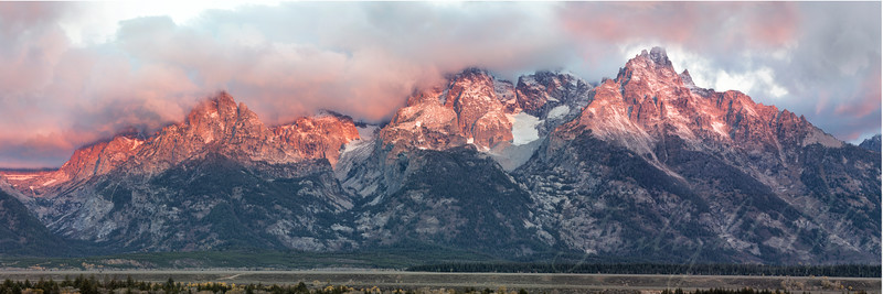 Grand Tetons Morning Light