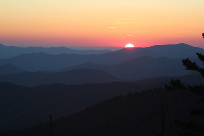 Smokie Mountains Sunset