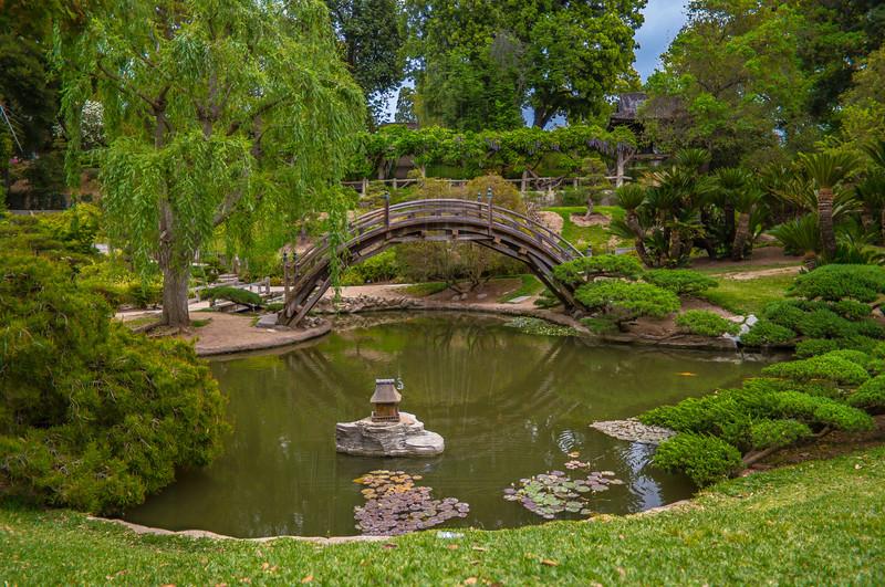 Bridge in the Japnese Gardent