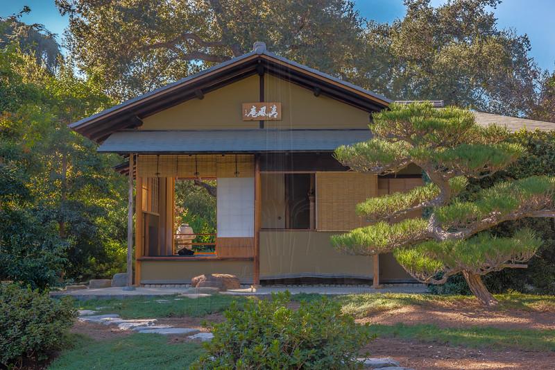 Japanese Teahouse.