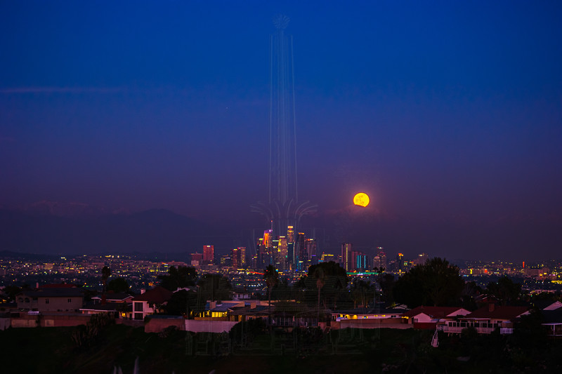 Moonrise in LA