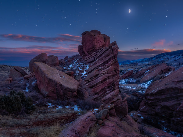 New Year Red Rocks