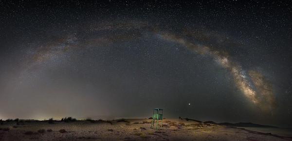 Milky Way, Sardinia