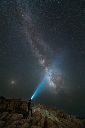 Under the stars, Sardinia