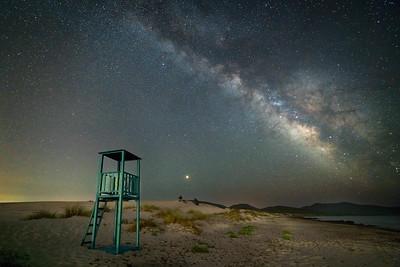 Galactic core, Sardinia