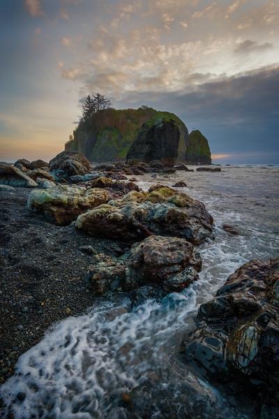 Ruby Beach Ebb Tide