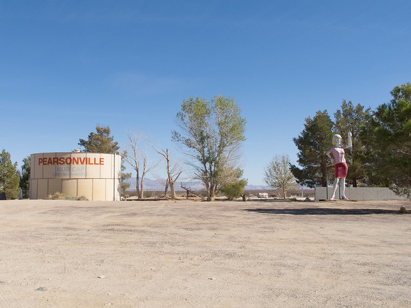 Pearsonville, California: Hubcap Capital Of The World