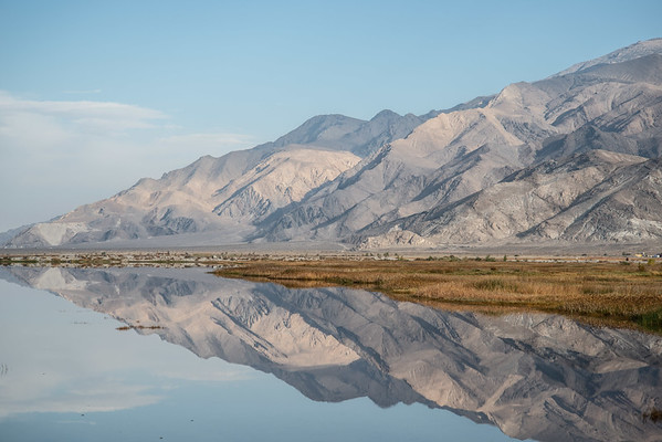 Morning Light, Owens Lake