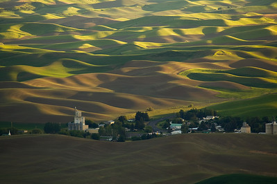 Grain Silos ,Steptoe Butte