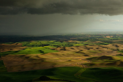 Storms Magical Light, The Hills of The Palouse, Washington State