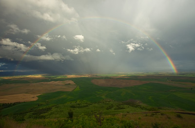 Full Rainbow, Steptoe Butte