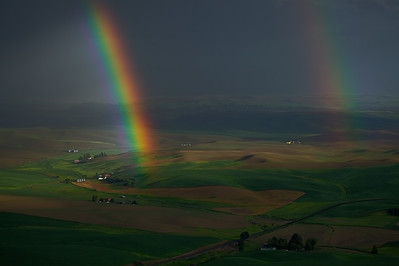 Double Rainbow, Steptoe Butte