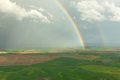 Clearing Storm, Steptoe Butte