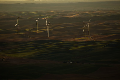 Windmills, Steptoe Butte