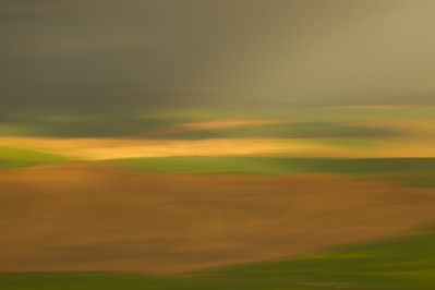 Motion blur, Soft light, Palouse, Steptoe Butte, Washington