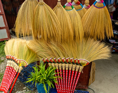 Native Grass Brooms of The Philippines