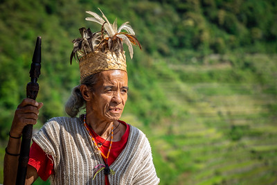 Igarot Man , Native to The Cordillera Region of Northern Luzon