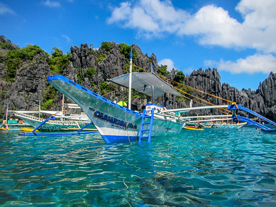 The Blue Waters of El Nido