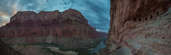 Nankoweap Granaries Panoramic, Grand Canyon
