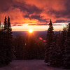 Sunset at Arizona Snowbowl, Flagstaff, AZ