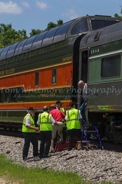 The N&W 611 visits Petersburg, VA