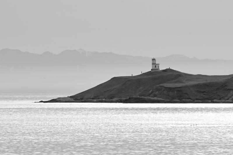 Cattle Point Lighthouse on San Juan Island