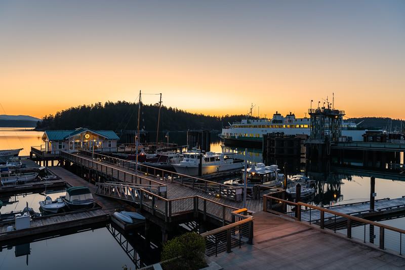 Friday Harbor, Saturday morning