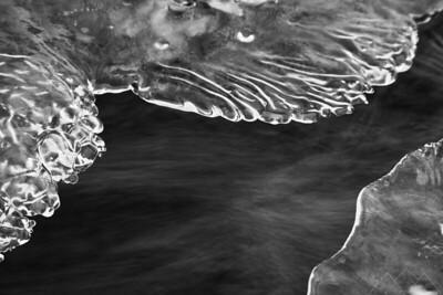 Ice Formation In West Fork of Oak Creek, 2013