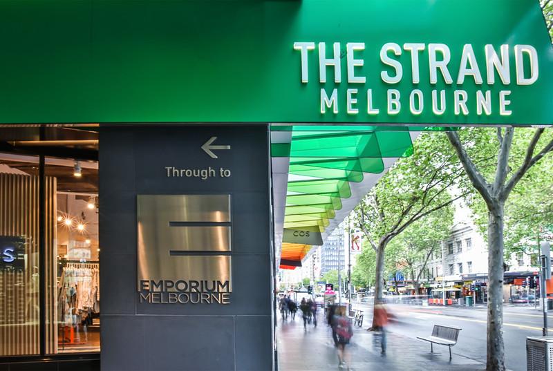 The Strand Signage