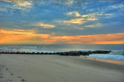Sunrise over Holegate