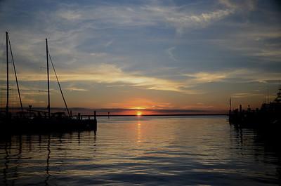 Sunset over Barnegat Bay