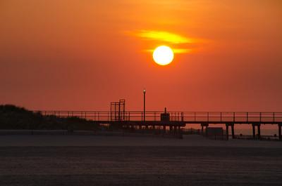 Sunrise in Wildwood, New Jersey