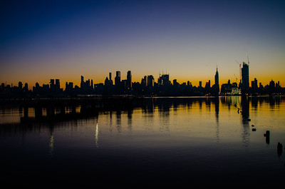 Sunrise over Manhattan