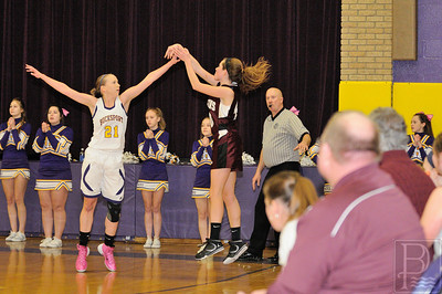 Photo by, Franklin Brown Girls Basketball George Stevens Academy at Bucksport Played Thursday, January 2, 2014
