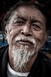 Balinese boatman.
