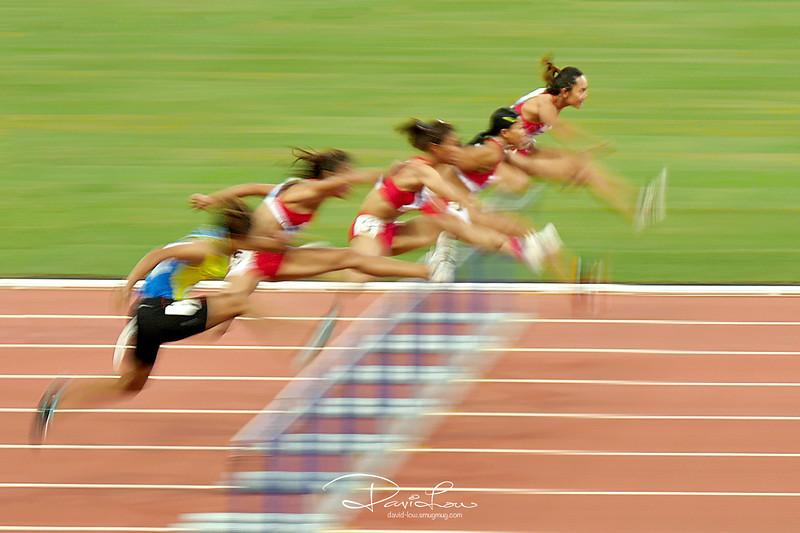 Women Hurdle Final 100m (SEA Games 2015)