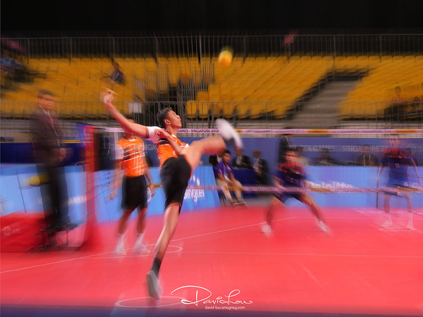 Sepak Takraw - Indonesia vs Malaysia (SEA Games 2015)