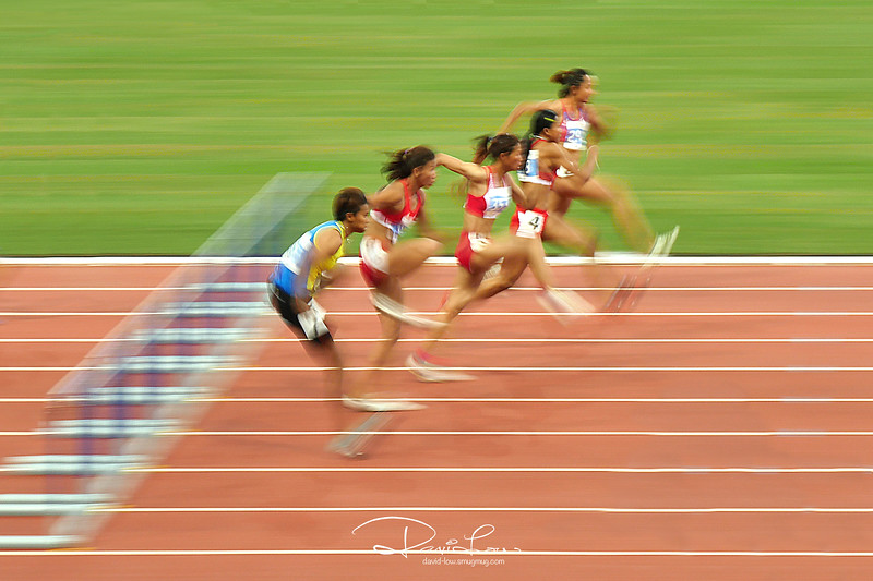 Women Hurdle Final 100m (SEA Games 2015)