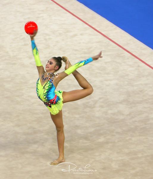 Alexandra Merkulova (Russia) - Gold Individual. Congratulations !!